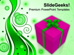 Gift Box Celebration Festival PowerPoint Templates And PowerPoint Themes 0912