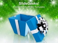 Gift Box Christmas Festival PowerPoint Templates And PowerPoint Themes 1112
