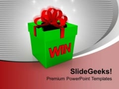 Gift Exchange With Family And Friends PowerPoint Templates Ppt Backgrounds For Slides 0413