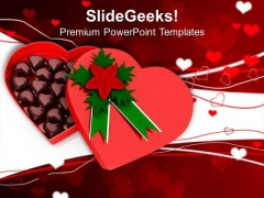 Gift Full Of Chocolates Occassion PowerPoint Templates Ppt Backgrounds For Slides 0213