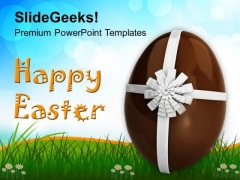 Gift Of Easter Egg PowerPoint Templates Ppt Backgrounds For Slides 0313