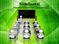 Give Lesson To Students For Better Future PowerPoint Templates Ppt Backgrounds For Slides 0513