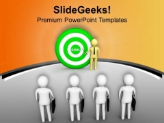Give Targets To Achieve Your Team PowerPoint Templates Ppt Backgrounds For Slides 0713