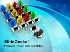 Give The Information To Your Team PowerPoint Templates Ppt Backgrounds For Slides 0613