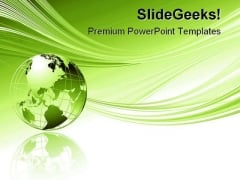 Global Abstract Beauty PowerPoint Template 1110
