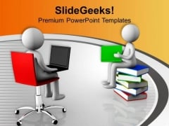 Global And Online Education PowerPoint Templates Ppt Backgrounds For Slides 0713