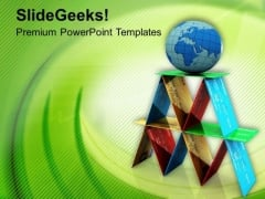Global Base For Business PowerPoint Templates Ppt Backgrounds For Slides 0713