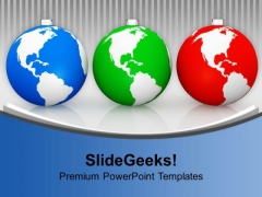 Global Baubles Decorations PowerPoint Templates Ppt Backgrounds For Slides 1112