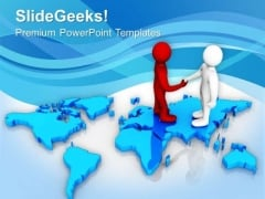 Global Business Deal PowerPoint Templates Ppt Backgrounds For Slides 0513