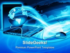 Global Business PowerPoint Template 0810