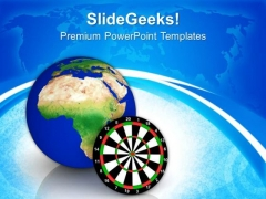 Global Business Target PowerPoint Templates Ppt Backgrounds For Slides 0513