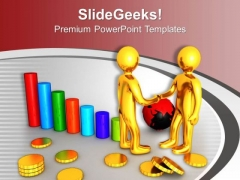 Global Client Relationship Is Good For Growth PowerPoint Templates Ppt Backgrounds For Slides 0713
