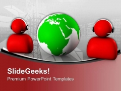 Global Communication And Information Concept PowerPoint Templates Ppt Backgrounds For Slides 0313