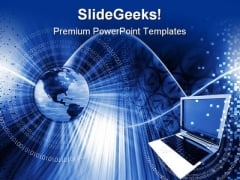 Global Computer Technology PowerPoint Themes And PowerPoint Slides 0711