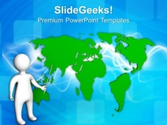 Global Connectivity Is Important For Business PowerPoint Templates Ppt Backgrounds For Slides 0513