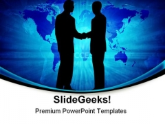 Global Cooperation Business PowerPoint Themes And PowerPoint Slides 0511