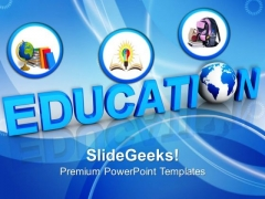 Global Education Future PowerPoint Templates And PowerPoint Themes 1112