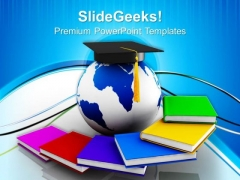 Global Education Success PowerPoint Templates And PowerPoint Themes 0812