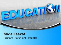 Global Education Word Future PowerPoint Templates Ppt Backgrounds For Slides 0113