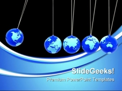 Global Effect Globe PowerPoint Templates And PowerPoint Backgrounds 0611