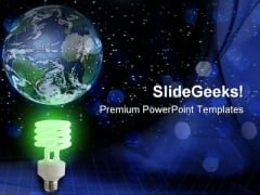 Global Green Idea Technology PowerPoint Templates And PowerPoint Backgrounds 0311