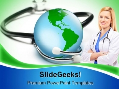 Global Health Medical PowerPoint Themes And PowerPoint Slides 0211