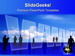 Global Information Technology PowerPoint Templates And PowerPoint Backgrounds 0411