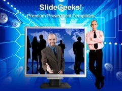 Global Network Computer PowerPoint Templates And PowerPoint Backgrounds 0211
