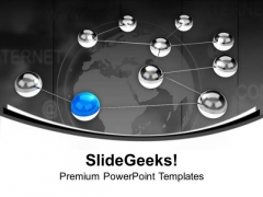 Global Network Internet Technology PowerPoint Templates Ppt Backgrounds For Slides 0213