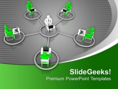 Global Network Technology PowerPoint Templates Ppt Backgrounds For Slides 0713