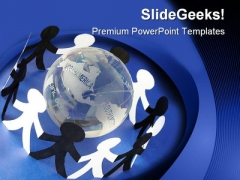Global Peace Globe PowerPoint Templates And PowerPoint Backgrounds 0611
