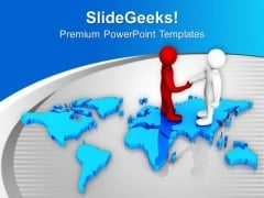 Global Relation Are Very Important PowerPoint Templates Ppt Backgrounds For Slides 0613