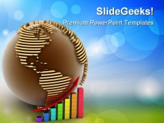 Global Success Concept Business PowerPoint Themes And PowerPoint Slides 0911