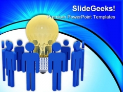 Global Thinking People PowerPoint Themes And PowerPoint Slides 0211