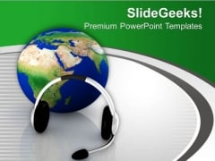 Global Voice Communication Be Good PowerPoint Templates Ppt Backgrounds For Slides 0713