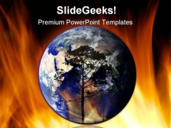 Global Warming01 Geographical PowerPoint Templates And PowerPoint Backgrounds 0311