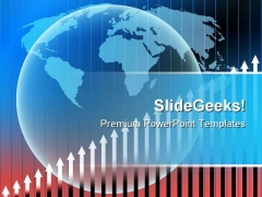 Globe Stats Business PowerPoint Templates And PowerPoint Backgrounds 0611