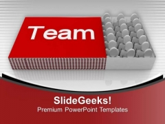 Go Ahead For Business Success With Team PowerPoint Templates Ppt Backgrounds For Slides 0613
