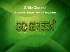 Go Green Nature PowerPoint Templates And PowerPoint Themes 0212