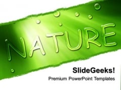 Go Green Nature PowerPoint Templates And PowerPoint Themes 0512