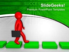 Go On Right Path In Business PowerPoint Templates Ppt Backgrounds For Slides 0613