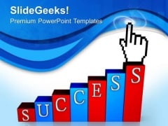 Go Step By Step To Reach Towards PowerPoint Templates Ppt Backgrounds For Slides 0513
