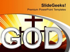 God Is Everywhere PowerPoint Templates Ppt Backgrounds For Slides 0413