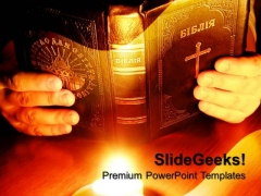 God Talks To Me Church PowerPoint Templates And PowerPoint Themes 0712