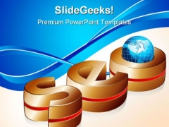 Golden Seo Business PowerPoint Templates And PowerPoint Backgrounds 0611