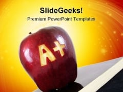 Grade A Education PowerPoint Templates And PowerPoint Backgrounds 0311