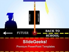 Graduation Education PowerPoint Templates And PowerPoint Backgrounds 0611