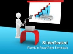 Graph Chart Business PowerPoint Templates And PowerPoint Backgrounds 0511