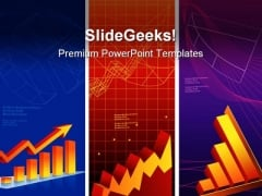 Graph Shows Profit Sales PowerPoint Templates And PowerPoint Backgrounds 0711