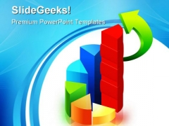 Graph Statistics Business PowerPoint Themes And PowerPoint Slides 0411